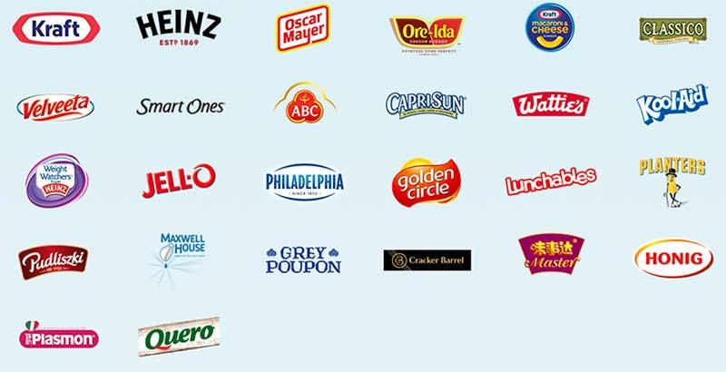 marcas de Kraft Heinz
